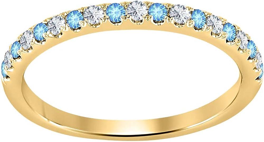 Gold Diamonds supreme Max 60% OFF Jewellery Round Cut 14k Half Gemstone G Eternity