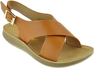 0f24d1990c92 Link Recent 05K Little Girls Adjustable Criss Cross Gladiator Strappy  Slingback Wedge Sandals