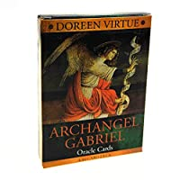 Archangel Gabrielのオラクルカードフル英語44カードデッキタロットパーティーボードゲーム