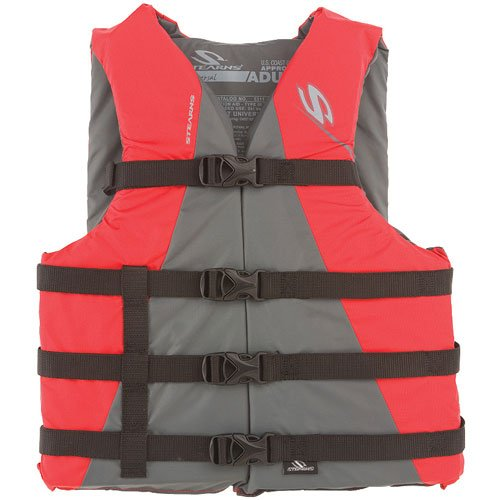 %39 OFF! Stearns Adult Watersport Classic Series Vest, Oversize, Red