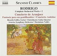 Rodrigo - Complete Orchestral Works, Vol 2 by J. Rodrigo (2002-08-02)