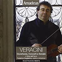 Ouverture, concerti e sonate Ouverture n.6 in sol Sonata per violino n.6 in la Concerto per violino a 5 in LA Sonata per violino n.7 in LA