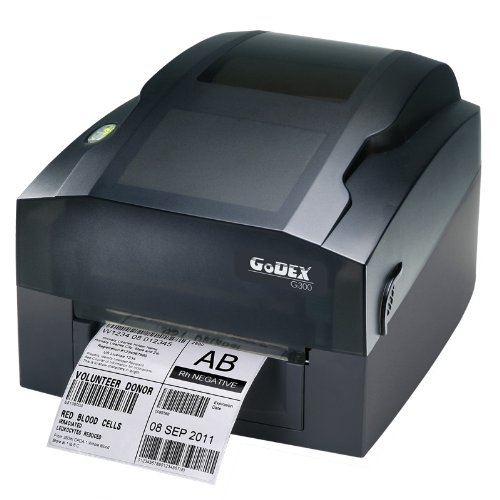Godex G300 - Impresora de Etiquetas (Térmica Directa/Transferencia térmica, 203 x 203 dpi, 240 Ipm, Paralelo, Alámbrico, 16 MB) No (Importado)