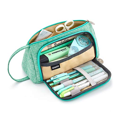 EASTHILL Large Capacity Pencil Pen Case Bag...