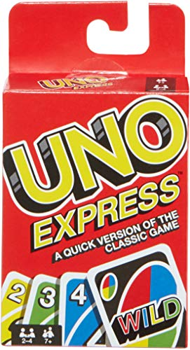 Games UNO Express - A Quick Version of The Classic Game - Mattel FLK65