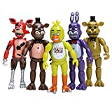 Inspired by Five Nights at Freddys FNAF Figures Set 5 pcs