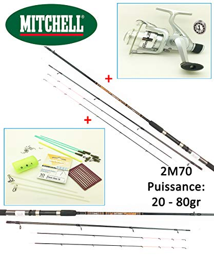 Mitchell Pack Complet Feeder/Quiver GT Pro +...