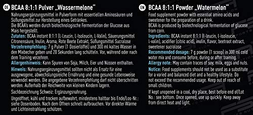 FSA Nutrition BCAA 8:1:1 Vegan-Wassermelone-420g - 5