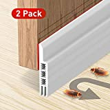 Holikme 2 Pack Door Draft Stopper Under Door Draft Blocker Insulator Door Sweep...