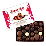 Fannie May Valentines Day Colonial Chocolate Assortment, Candy Gift Box, 14 oz