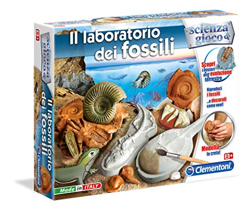 Clementoni 13933 - Scienza e Gioco, Il Laboratorio dei Fossili