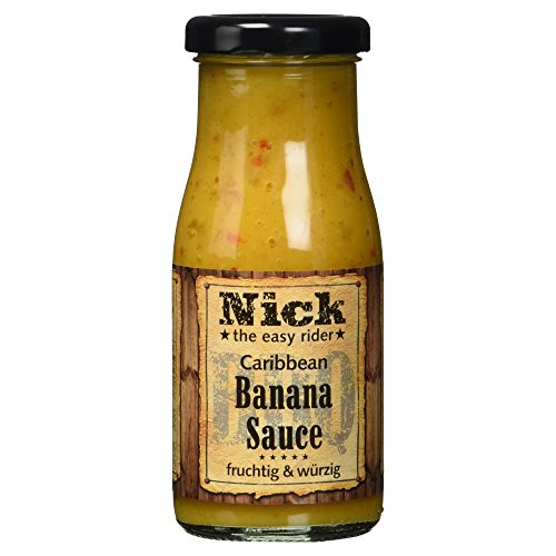 NICK Caribbean BBQ-Banana Sauce, 140 ml