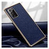 Diecast master Carcasa de telefono Caja De Cuero De Lujo Fit For Samsung Galaxy Note 20 Ultra Teléfono Protector De Negocios Fit For Samsung Note 20 Funda De Goma para Teléfono