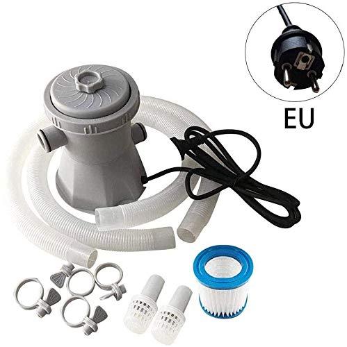 FFKL Aboveground Pool Filter Pump Pool Cleaning Water Pump Filter Water Circulation Pump Unit,Filter Pump