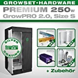 Growbox growpro 2.0 S – Grow Set para Indoor Home Grow – 250 W Grow Set Premium