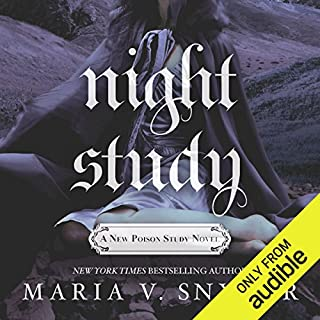 Night Study                   Written by:                                                                                                                                 Maria V. Snyder                               Narrated by:                                                                                                                                 Gabra Zackman                      Length: 11 hrs and 33 mins     4 ratings     Overall 4.8