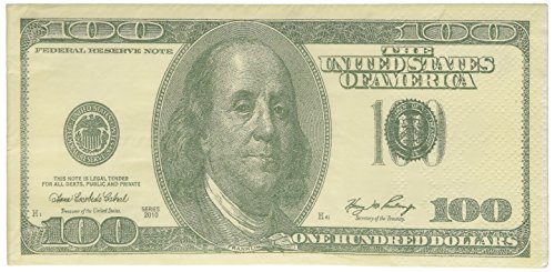 100 Dollar Bill Printed Napkins Tissues Buy Online In China At Desertcart