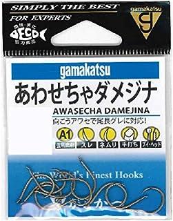 がまかつ(Gamakatsu) シングルフック A1 あわせちゃダメジナ 茶 10本 66276