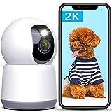 5Ghz/2.4Ghz Dual WiFi Dog Camera, Lametuty 2K Baby...