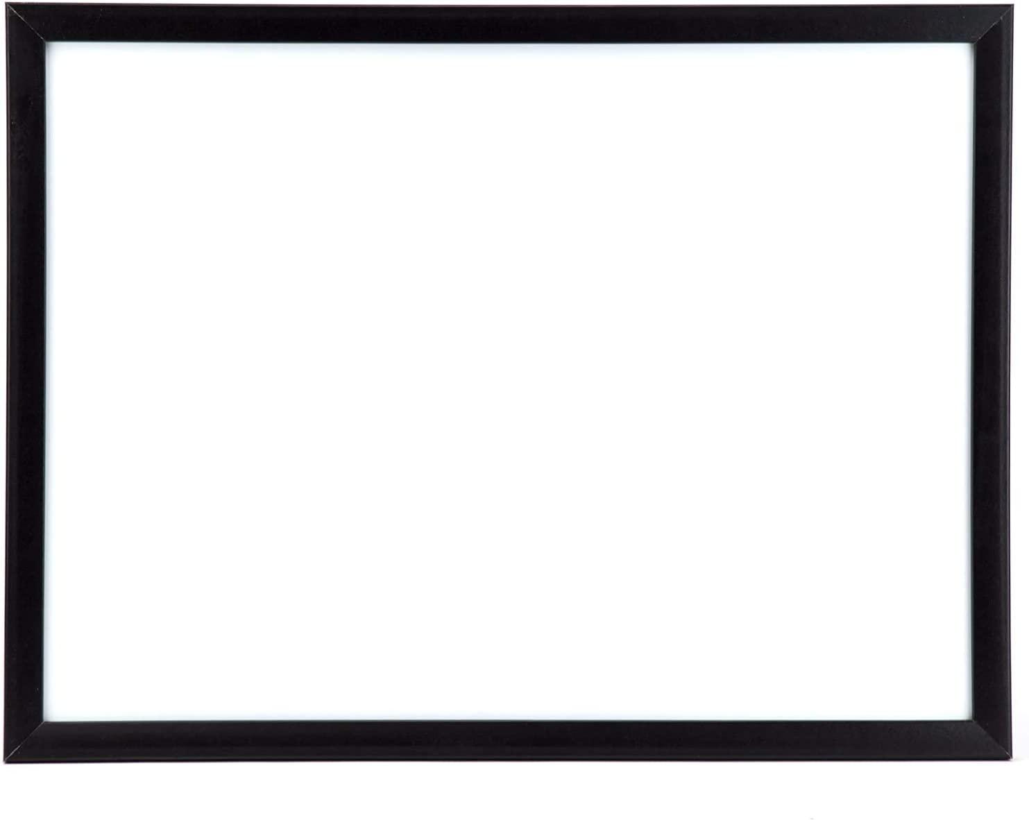 U Surprise price Brands Magnetic Dry Erase Board 17 23 Fr Black Inches Same day shipping Wood x