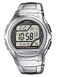 C'est une montre sportive pour vous, ainsi qu'un excellent cadeau pour la famille ou les amis -Cette Montre Digital a une function calendrier: Jour-Date-Mois-Année,Radio Piloté,Fuseaux Horaires,Chronographe,minuteur,Eclairage Bracelet de Haute qualit...