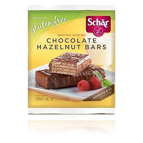 Schar Chocolate Hazelnut Bar, 3.7 Ounce - 12 per case.12