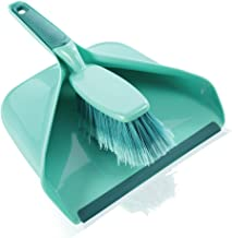 Leifheit L41410 Hand Sweeper with Dust Pan Set, Turquoise