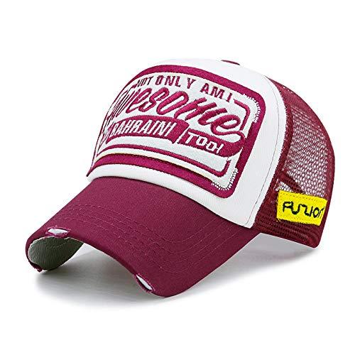 Unisex Baseball Caps Baseball Kappe Hut Erwachsene Sommer Im Freien Trucker Caps Liebhaber Mode Hip Hop Snapback Hüte Männer Und Frauen Mode Mesh Baseball Caps 55-60Cm 55-60Cm A8