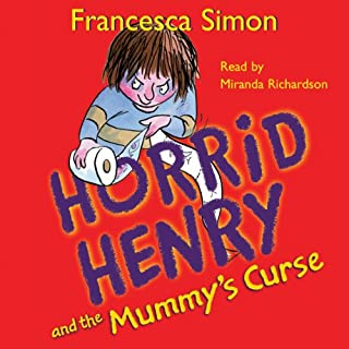 Horrid Henry and the Mummy's Curse cover art