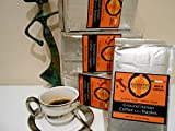 Giannetti Artisans Ground Espresso Coffee - ARTISAN MADE IN NAPLES & WOOD OVEN ROASTED COFFEE BEANS (8.8 oz pack) - Imported