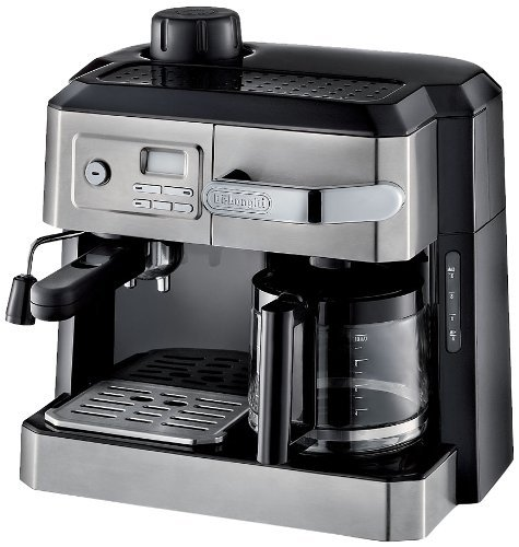 Delonghi Combination Espresso & Drip Coffee with Programmable Timer