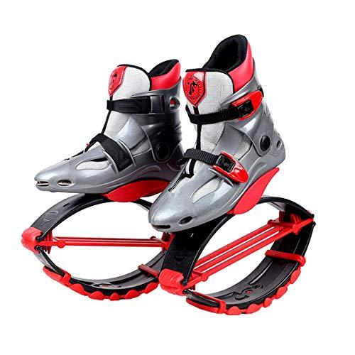 Unisex buty do biegania dla dorosłych, do wyścigów, skoków i podskakiwania, obciążenie ok. 20 do 100 kg XL czarne/czerwone