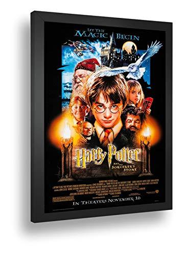 Quadro Decorativo Poste Harry Potter E A Pedra Filosofal Bruxo