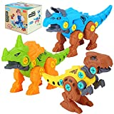 Niskite Kids Toys Stem Dinosaur Toy: Take Apart Building Dinosaur Toys for Kids 5-7  Learning Educational Construction Toys for 3 4 5 6 Year Old Boys  Birthday Gifts for Boys Girls Age 3-8