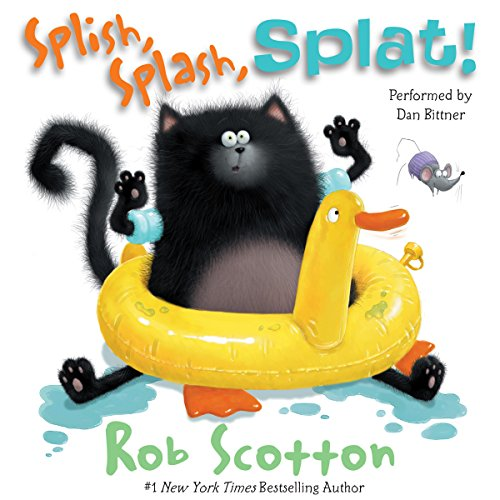 Splat the Cat: Splish, Splash, Splat! cover art