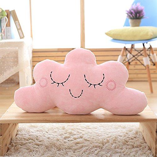 Linda Almohada de Nube para habitación de niños, Cuna, muñeca cómoda, muñeca para Dormir, cojín para sofá, 35 * 60 cm A