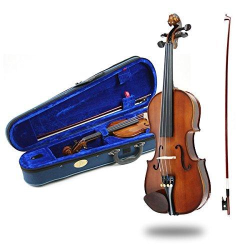 Stentor SR-1400-F-1 4 - Set per violino con custodia e arco