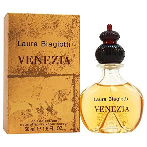 Laura Biagiotti Venezia femme / woman, Eau de Parfum, Vaporisateur / Spray, 1er Pack (1 x 50 ml)