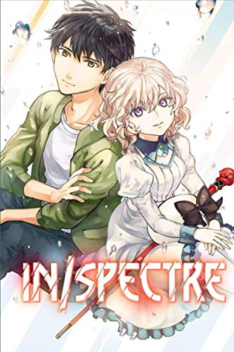 In/Spectre: Japanese Anime Notebook, 6 x 9- 100 Blank Pages - Anime Journal, Otaku Gift Notebook, Journal College Diary, Gift For Boys, Girls, Artists & Adults