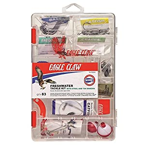 Eagle Claw E.C. Fresh Water Tackle Kit, 83 Piece