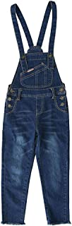 Shengwan Petos Vaqueros Niñas Largos Monos Denim Pantalones Jeans