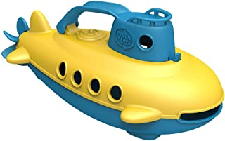 Green Toys Submarine – BPA, Phthalate Free Blue Watercraft with Spinning Rear..