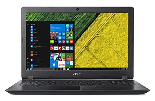 Acer Aspire 3 A315-51-39U5 Notebook con Processore Intel Core i3-7130U, RAM da 8 GB DDR4, 1000 GB HDD, Display da 15.6  HD LED LCD, Scheda Grafica Intel HD 620, Windows 10 Home, Nero