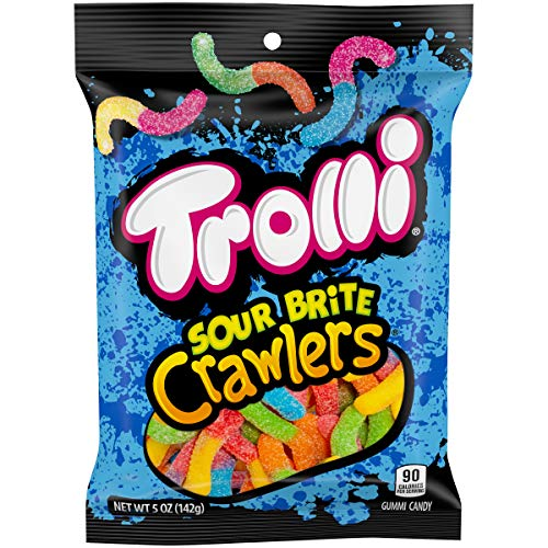 Trolli Sour Brite Crawlers, 5 Ounce