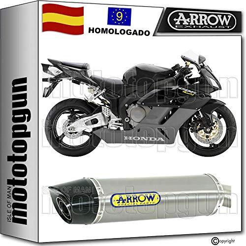 ARROW TUBO DE ESCAPE HOMOLOGADO MAXI RACE-TECH CON FONDO CARBY EN TITANIO COMPATIBLE CON HONDA CBR 1000 RR 2004 04 71684PK