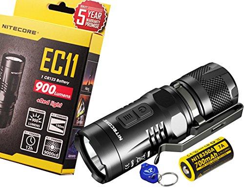 Nitecore EC11 900 Lumens Brightest Mini...