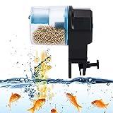 Sincronización del alimentador de peces 100 ml / 210 ml tres modos de alimentación tanque de peces máquina de alimentación de peces temporizador inteligente del alimentador de alimentos(blue)