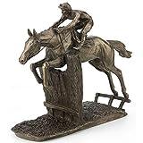 Fiesta Studios At Full Stretch by David Geenty Cold Cast Bronze Horse Sculpture H18cm