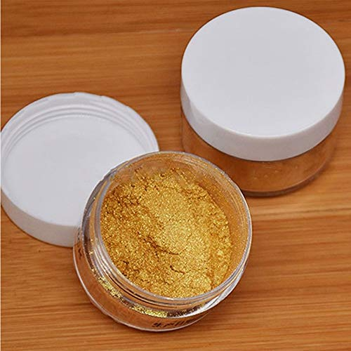 PiniceCore 5g Edible Flash Glitter Golden Silver Powder for Decorating Food Cake Biscuit Baking Supply Cake Decoration