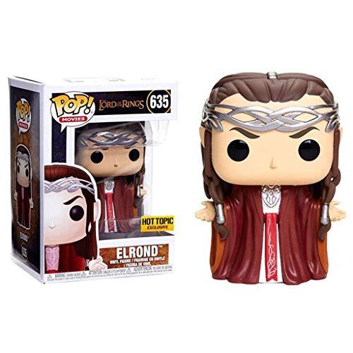 Luckly77 Elrond Pop Figura Películas: señor de los Anillos Exquisito Paisaje Decoración Adornos